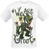 Marvel - Venomized Groot - We Are Groot - T-shirt - wit