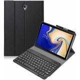 Samsung Galaxy Tab S4 10.5 Case - Bluetooth toetsenbord hoes - QWERTY layout - Magneetsluiting - Sleep/Wake-up functie - Zwart