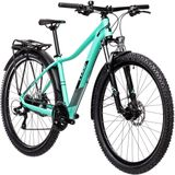 Cube Access WS Allroad Dames, turquoise