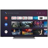 "Smart TV Toshiba 58UA3A63DG 58"" 4K Ultra HD DLED WiFi Zwart"