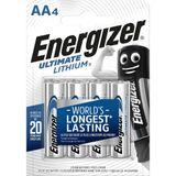 Energizer Lithium Batterij AA 1.5 V Ultimate 4-Blister