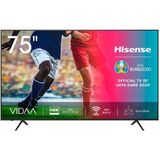 "Smart TV Hisense 75A7100F 75"" 4K Ultra HD LED WiFi Zwart"