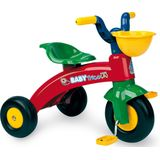driewieler Baby Trico Junior Rood